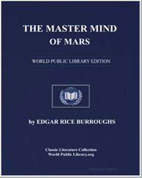 The Master Mind of Mars by Burroughs, Edgar Rice
