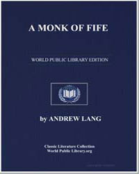 A Monk of Fife by Lang, Andrew, M. A.