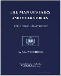 The Man Upstairs and Other Stories by Wodehouse, Pelham Grenville