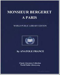 Monsieur Bergeret a Paris by France, Anatole