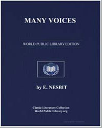Many Voices by Nesbit, Edith