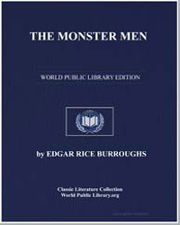 The Monster Men by Burroughs, Edgar Rice