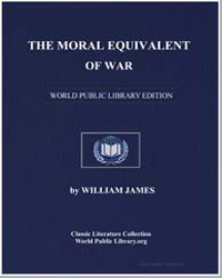 The Moral Equivalent of War by James, William