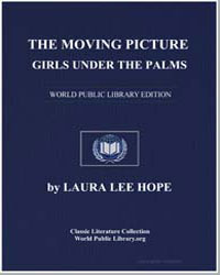 The Moving Picture Girls under the Palms by Lee Hope, Laura