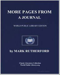 More Pages from a Journal by Rutherford, Mark