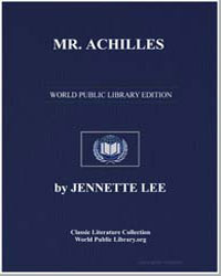 Mr. Achilles by Lee, Jennette