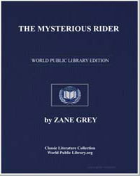 The Mysterious Rider by Grey, Zane