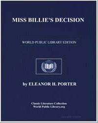 Miss Billie's Decision by Porter, Eleanor Hodgman