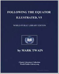 Following the Equator, Illustrated, V5 by Twain, Mark