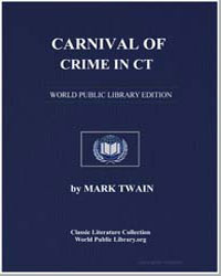 Carnival of Crime in Ct by Twain, Mark