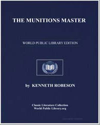 The Munitions Master by Robeson, Kenneth