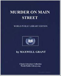 Murder on Main Street by Grant, Maxwell