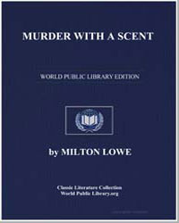 Murder with a Scent by Lowe, Milton