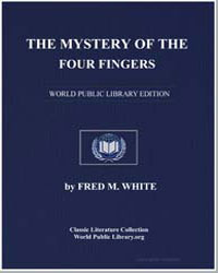 The Mystery of the Four Fingers by White, Fred M.