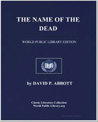 The Name of the Dead by Abbott, David P.