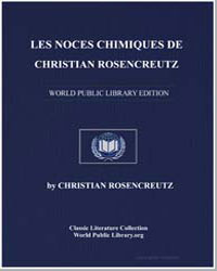 Les Noces Chimiques de Christian Rosencr... by Rosencreutz, Christian