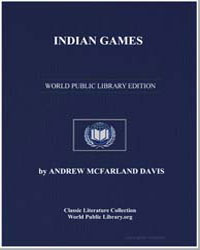 Indian Games by Davis, Andrew Mcfarland