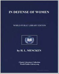 In Defense of Women by Mencken, Henry Louis