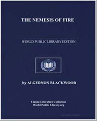 The Nemesis of Fire by Blackwood, Algernon Henry