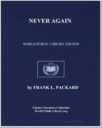 Never Again by Packard, Frank L.