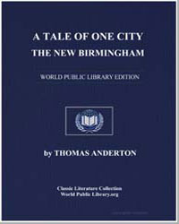 A Tale of One City : The New Birmingham by Anderton, Thomas