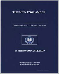 The New Englander by Anderson, Sherwood