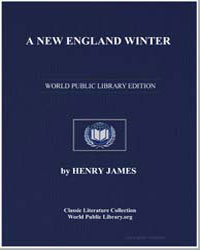 A New England Winter by James, Henry