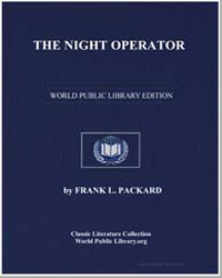 The Night Operator by Packard, Frank L.