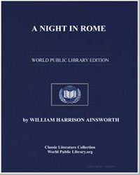 A Night in Rome by Ainsworth, William Harrison
