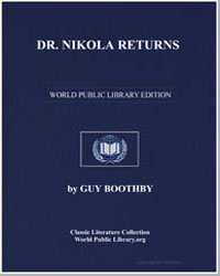 Dr. Nikola Returns by Booth, Guy