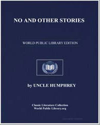 No and Other Stories Compiled by Uncle H... by Hutchinson, Joshua