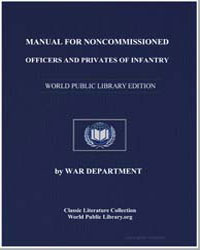 Manual for Noncommissioned Officers and ... by Department, War