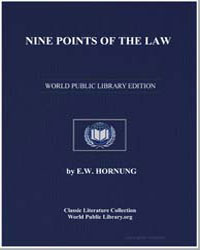 Nine Points of the Law by Hornung, Ernest William