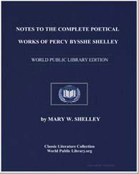Notes to the Complete Poetical Works of ... by Shelley, Mary Wollstonecraft