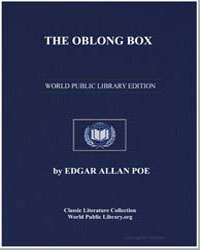 The Oblong Box by Poe, Edgar Allan