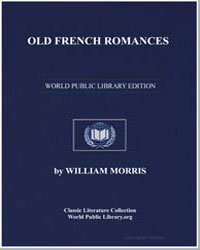 Old French Romances by Morris, William