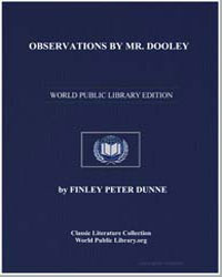 Observations by Mr. Dooley by Dunne, Finley Peter
