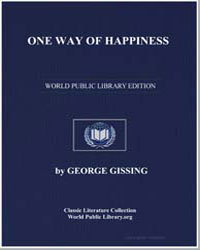 One Way of Happiness by Gissing, George