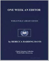 One Week an Editor by Davis, Rebecca Harding