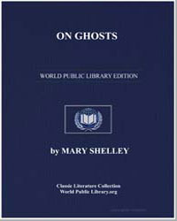 On Ghosts by Shelley, Mary Wollstonecraft