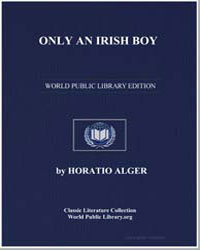 Only an Irish Boy by Alger, Horatio