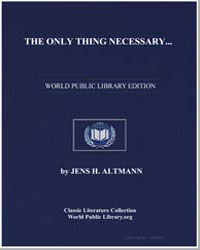 The Only Thing Necessary : A Midnight Se... by Altmann, Jens H.