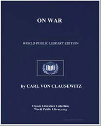 On War by Von Clausewitz, Carl