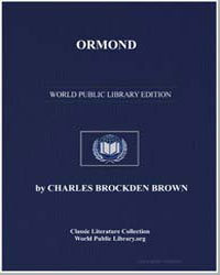 Ormond; Or, The Secret Witness by Brown, Charles Brockden