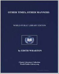 Other Times, Other Manners by Wharton, Edith