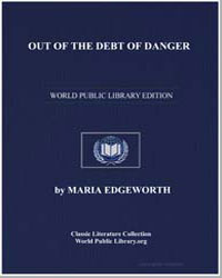Out of the Debt of Danger by Edgeworth, Maria