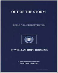 Out of the Storm by Hodgson, William Hope