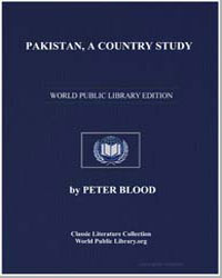 Pakistan, A Country Study by Mortimer, Louis R.