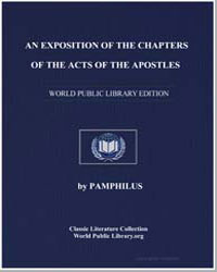 An Exposition of the Chapters of the Act... by Pamphilus