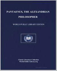 Pantaenus, The Alexandrian Philosopher by Pantaenus